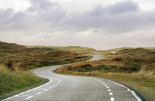 NRS clubritje op het eiland Texel