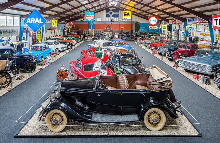 Automuseum Schagen tijdens Rondje Noord-Holland