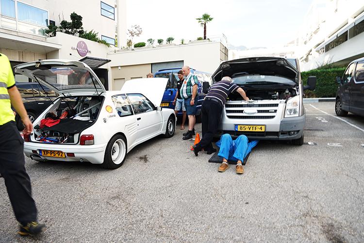Service Team Klassieker Rally