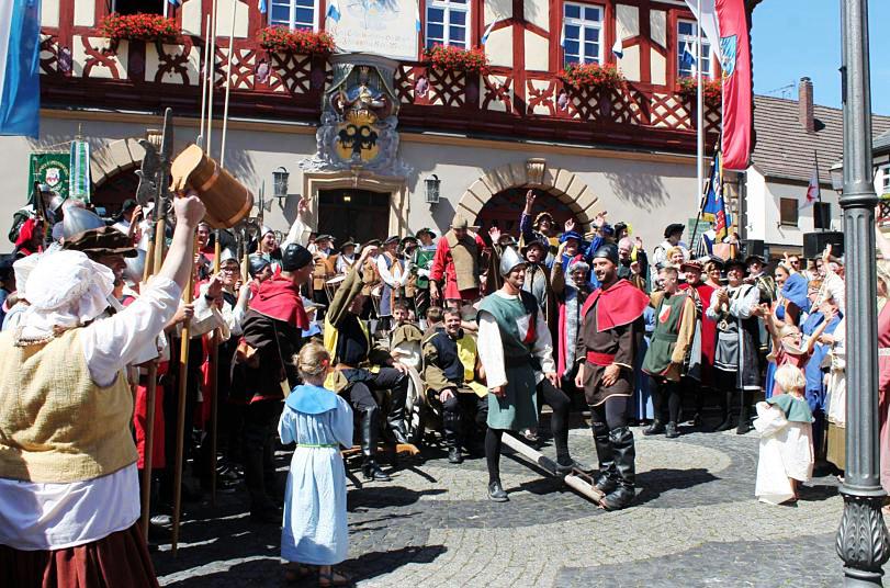 Middeleeuws feest in Bad Staffelstein