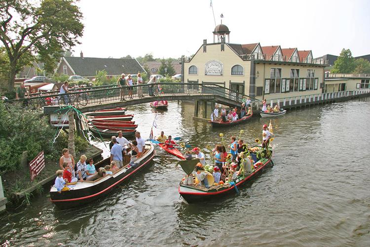 NRS Rondje Noord Holland varen, Broeker veiling in Broek op Langedijk