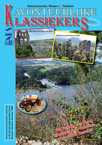 voorkant tijdschrift autorecreatie avontuurlijke klassiekers