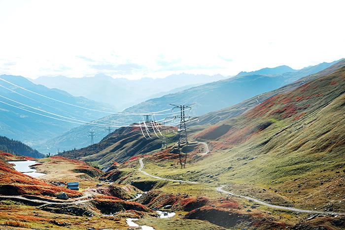 uitzicht onderweg tijdens NRS ALPEN TOERRALLY