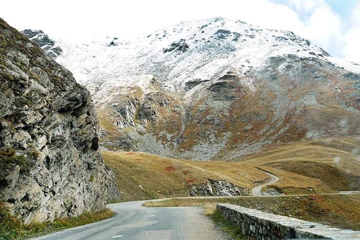 autoroute tijdens deelname aan nrs autorecreatie alpen toerrally
