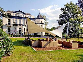 hotel tijdens clubrit Posbank en IJssel