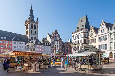 Trier bezoeken tijdens nrs autorecreatie moezel en sure reis
