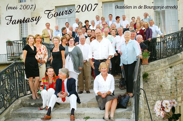 deelnemers fantasy tours mei 2007