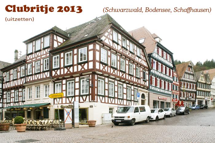 schwarzwald, bodensee, schaffhausen clubrit 2013