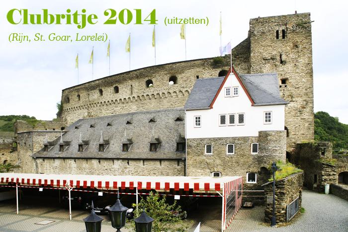 Rijn, St. Goar, Lorelei, clubrit 2014